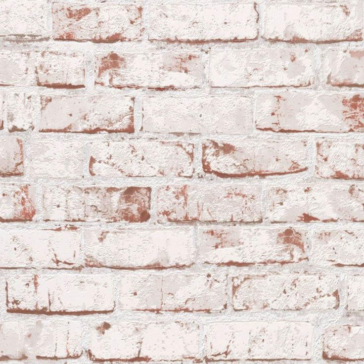 Faux brick contact paper red white 9078 13 brick for Distressed brick wall mural