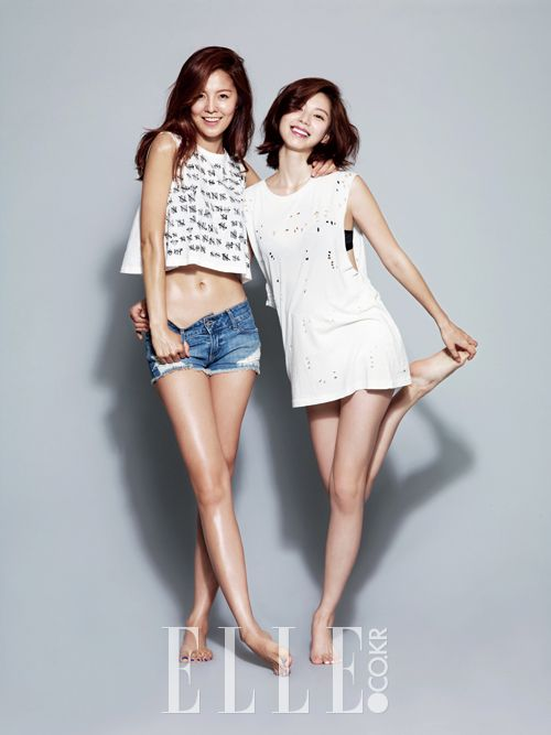 2014.06, Elle, Kim Sung Eun, Park Soo Jin