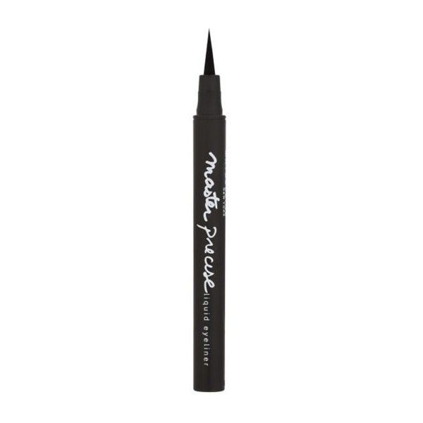 Maybelline Master Precise Liquid Eyeliner ($10) ❤ liked on Polyvore featuring beauty products, makeup, eye makeup, eyeliner, beauty, filler, maybelline, maybelline eyeliner, liquid eyeliner and maybelline eye makeup