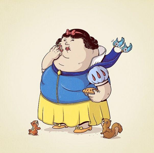 Funny and fat super-heros by Alex Solis   tobefun.net