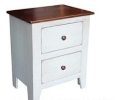 Canadian Woodcraft  - Riverside 2-drawer Night Table, $335.00 (http://www.canadianwoodcraft.ca/bedroom/copy-of-riverside-2-drawer-night-table/)