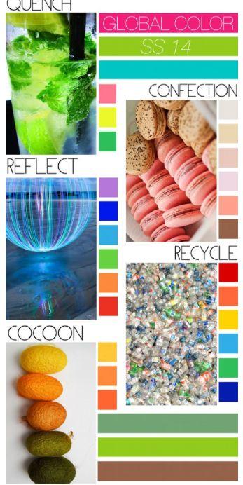 79 best spring summer 2014 color images on pinterest color trends