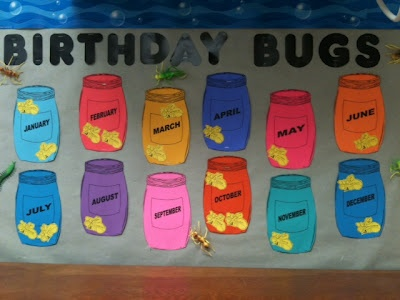 I made this board today-- Birthday Bugs (I bet the boys will like it!)