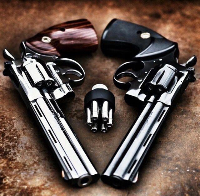 Dual revolvers, guns, weapons, self defense, protection, 2nd amendment, America, firearms, munitions #guns #weapons