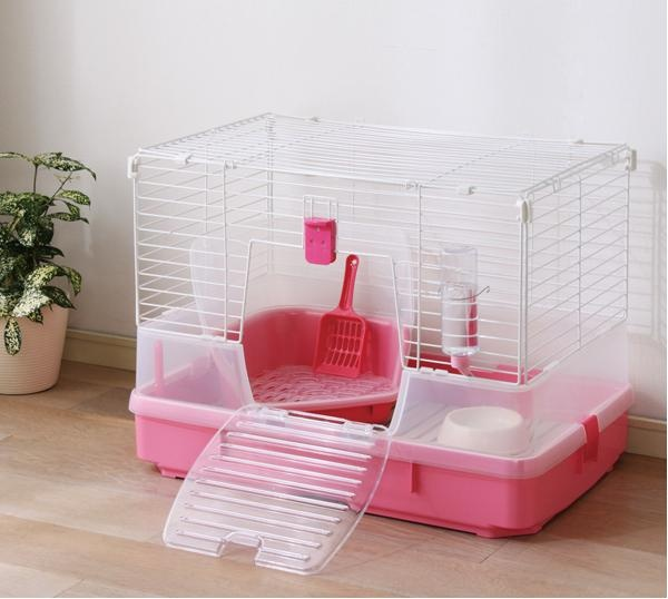 Pink Rabbit Cage Mac Needs A Pink Cage But It D Have