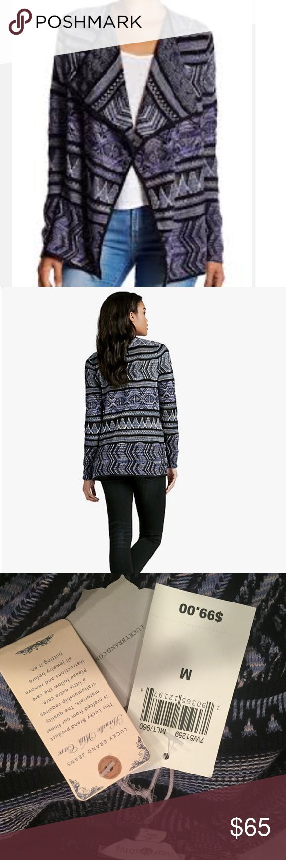 Lucky Brand sweater Brand new with tags Lucky Brand Sweaters
