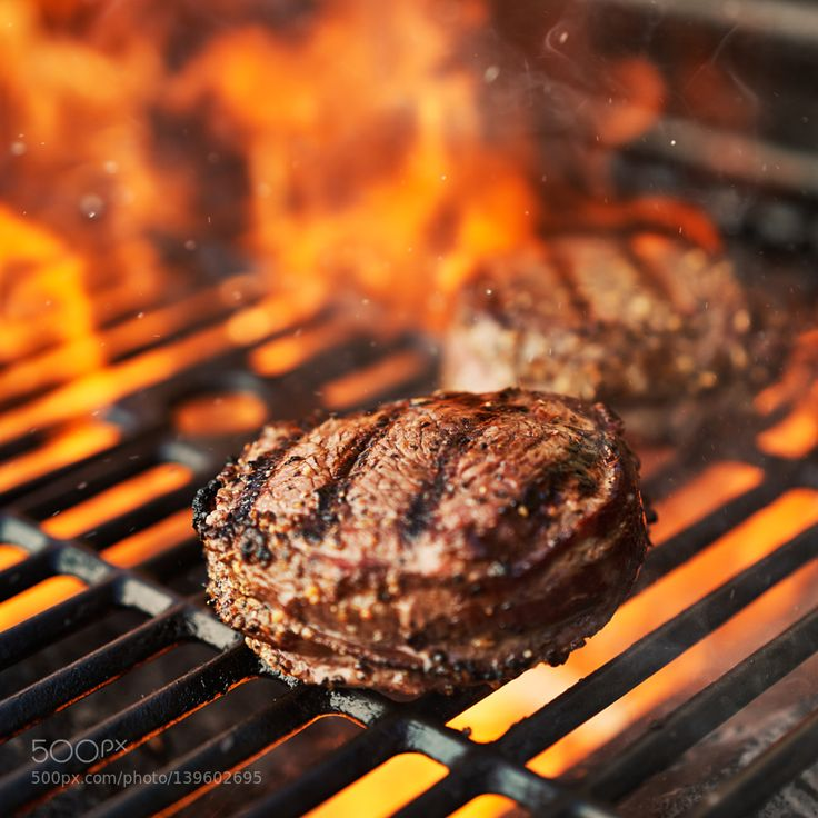 Pic grilling filet mignon steaks on grill with flames - Best marinade for filet mignon on grill ...