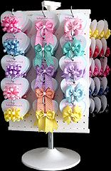 Display Hair Bow Holder | ... Hair Bow Instructions--Learn how to make hairbows and hair clips, FREE