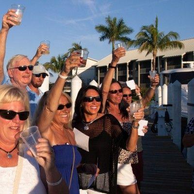 "Christening the 2014 Belize 54 Daybridge, ""Soggy Dollar"" in South Seas"