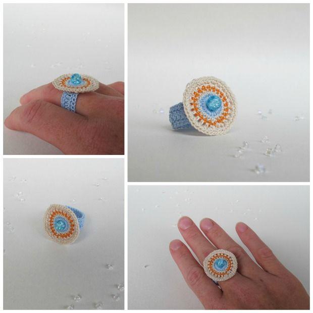 Vesellenka 14/30: crochet with bead