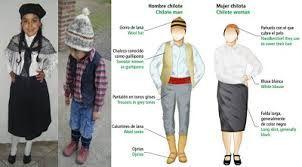 Resultado de imagen para traje tipico chilote