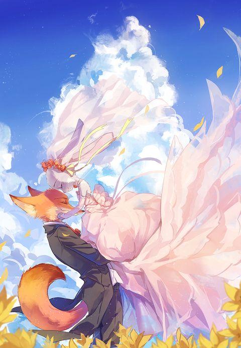 疯狂动物城【兔子与狐狸的奇妙组合♪】【相信梦想!】 - pixiv Spotlight