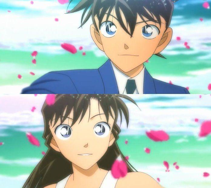 名探偵コナン Detective Conan Shinichi and Ran