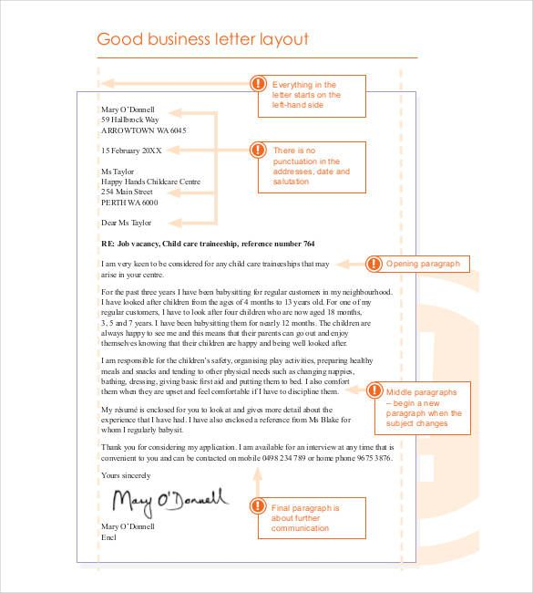 The  Best Business Letter Format Ideas On   Letter
