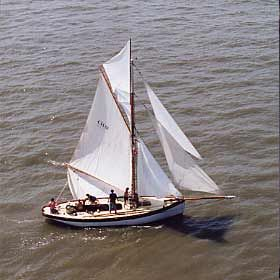 Lassie, Boat for sale, Morcombe Bay Prawner, Traditional fishing boat,