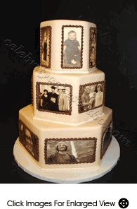 Love this cake idea for an Anniversary or Milestone Birthday!