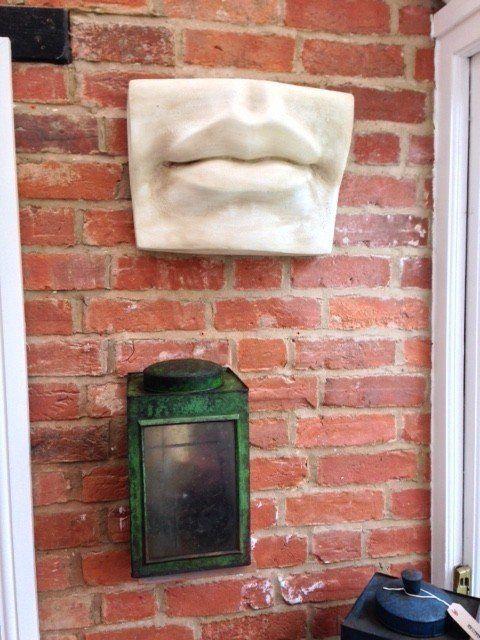 (6) Fancy - Large Lips Wall Decor