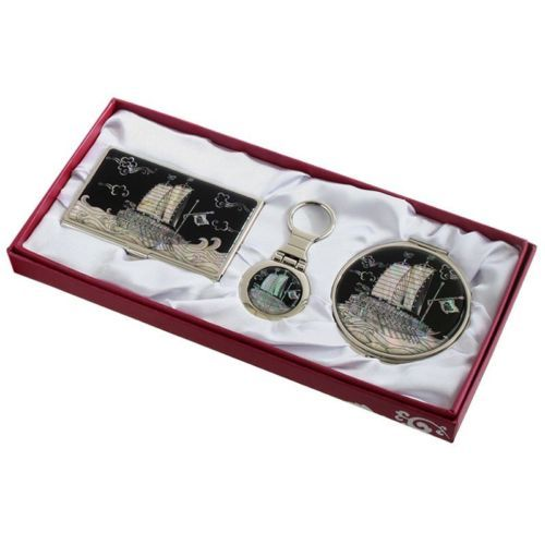 business card #holder id case #makeup compact #mirror keychain ring gift set #10,  View more on the LINK: 	http://www.zeppy.io/product/gb/2/201475646317/