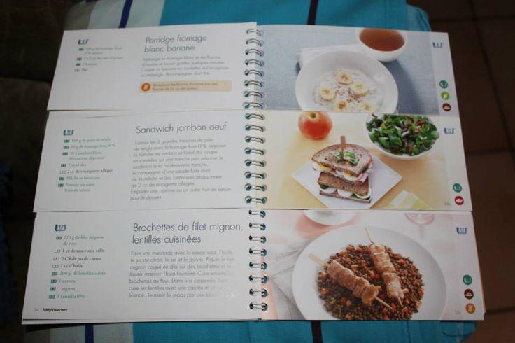 "Journée menus ww ""féculents"" !"