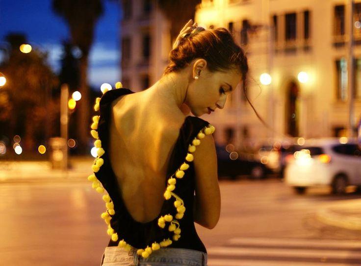 Bon'Amour bodysuit black/yellow*_