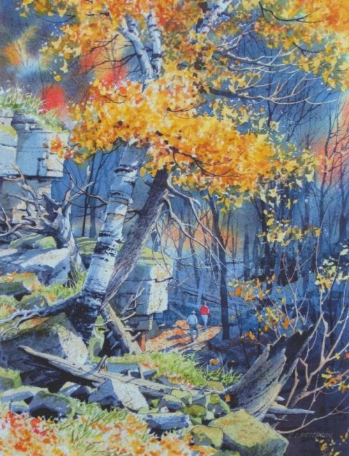 Charles L Peterson WATERCOLOR | Charles L. Peterson ...