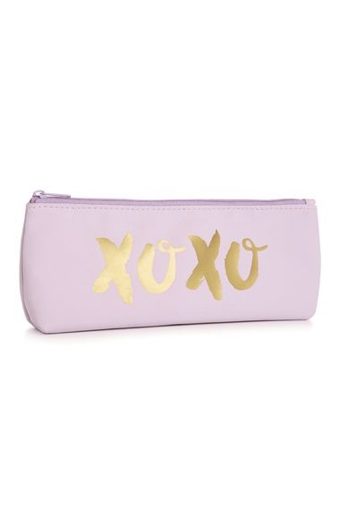 Gabriella Lindley of Velvet Gh0st is back... with a beaut stationery range! We love this lilac pencil case!
