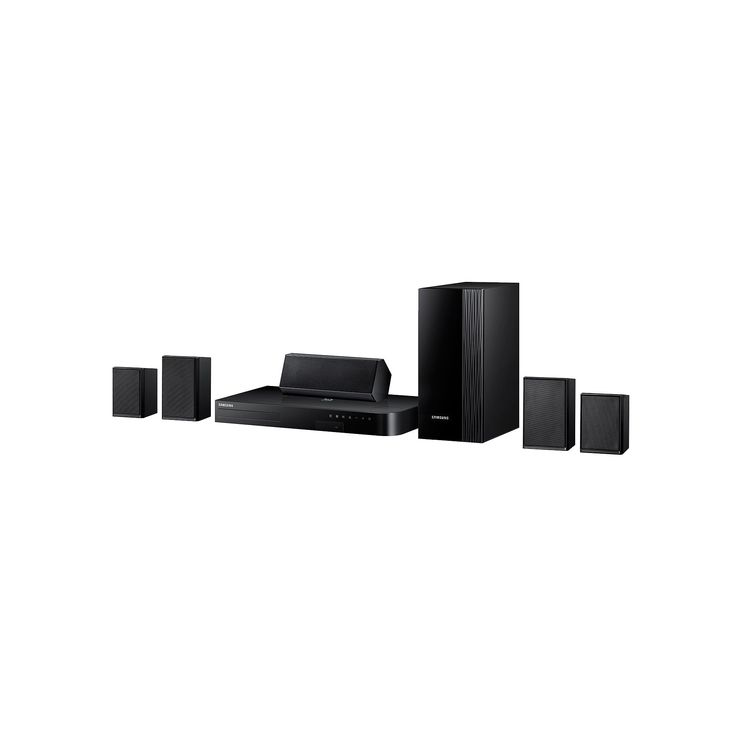 Samsung 5.1 Channel Blu-ray Home Theater System, Black