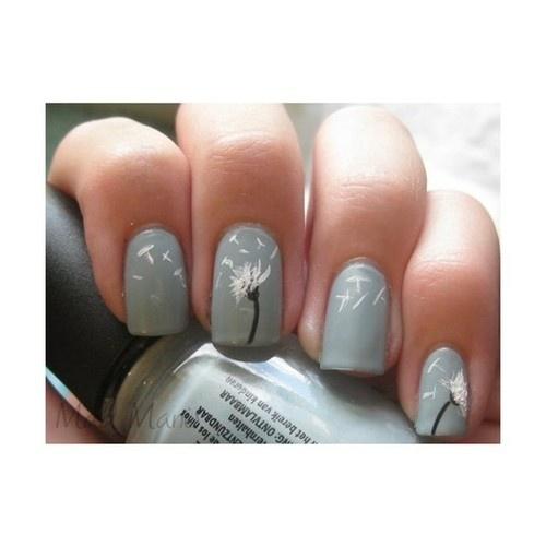 Best 25 dandelion nail art ideas on pinterest pretty nails nail art designs lamrod prinsesfo Gallery