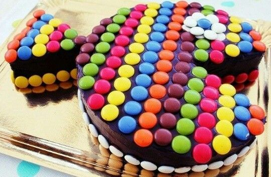 M And M Birthday Cake Ideas