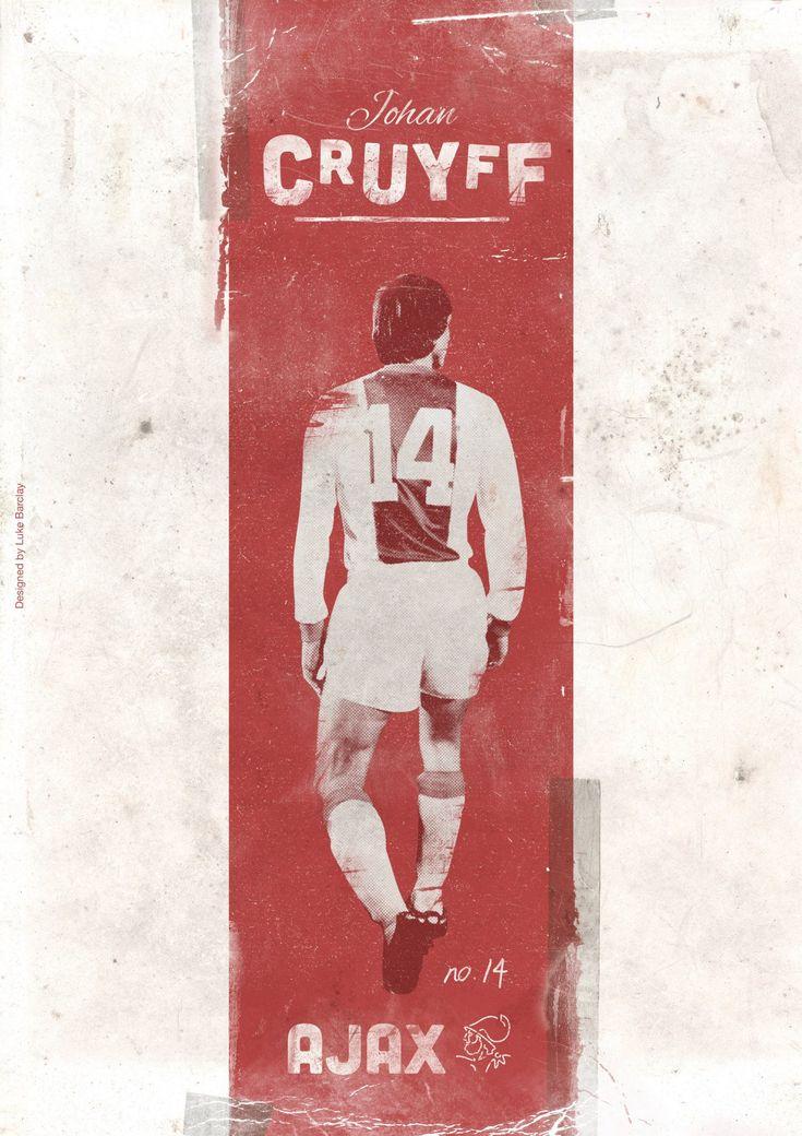Johan Cruyff, by Luke Barclay