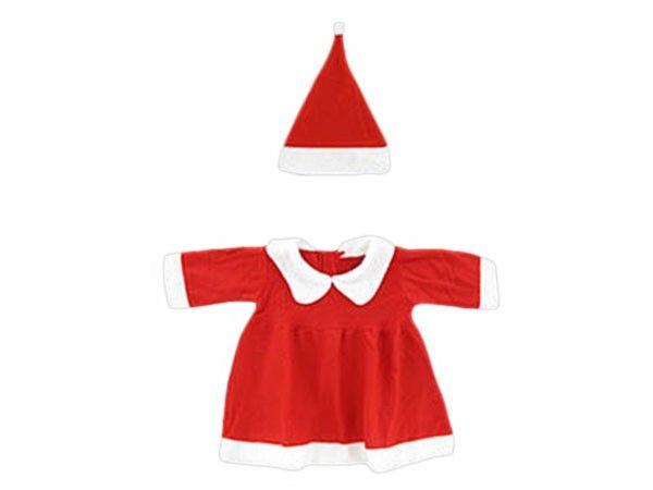 Weihnachtskostüm Weihnachtskleid Baby Mädchen 2-tlg. Gr.60-92 wk-95