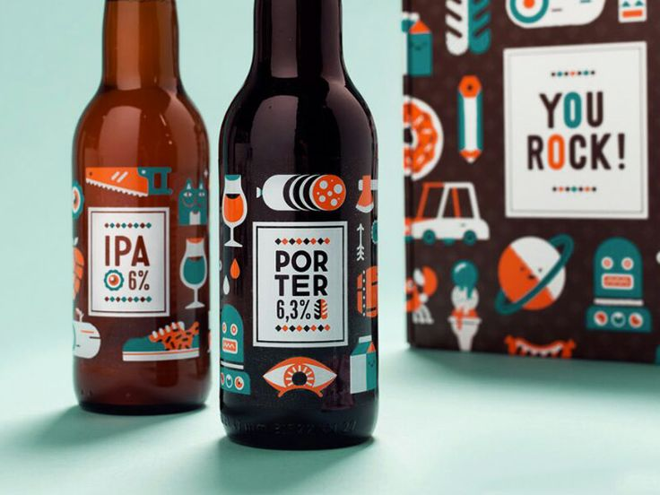 YOU ROCK! by Patswerk #packaging #beer