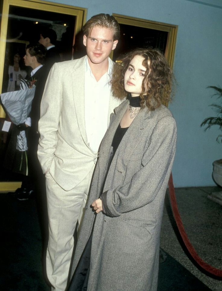 Cary Elwes and Helena Bonham Carter at the 'Lady Jane' premiere | 29 May 1986