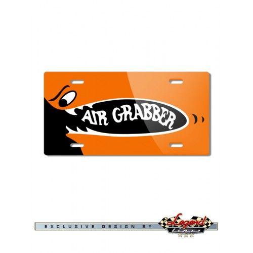 Plymouth GTX - Road Runner Air Grabber Design Novelty License Plate