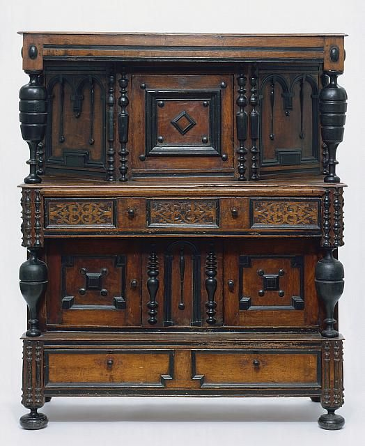 Court cupboard, Northern Essex County, Museum of Fine Arts, Boston. - 58 Best Jacobean/Pilgrim Images On Pinterest Furniture, Antique