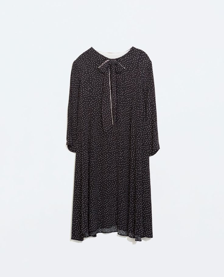 Image 7 of BOW POLKA DOT DRESS from Zara