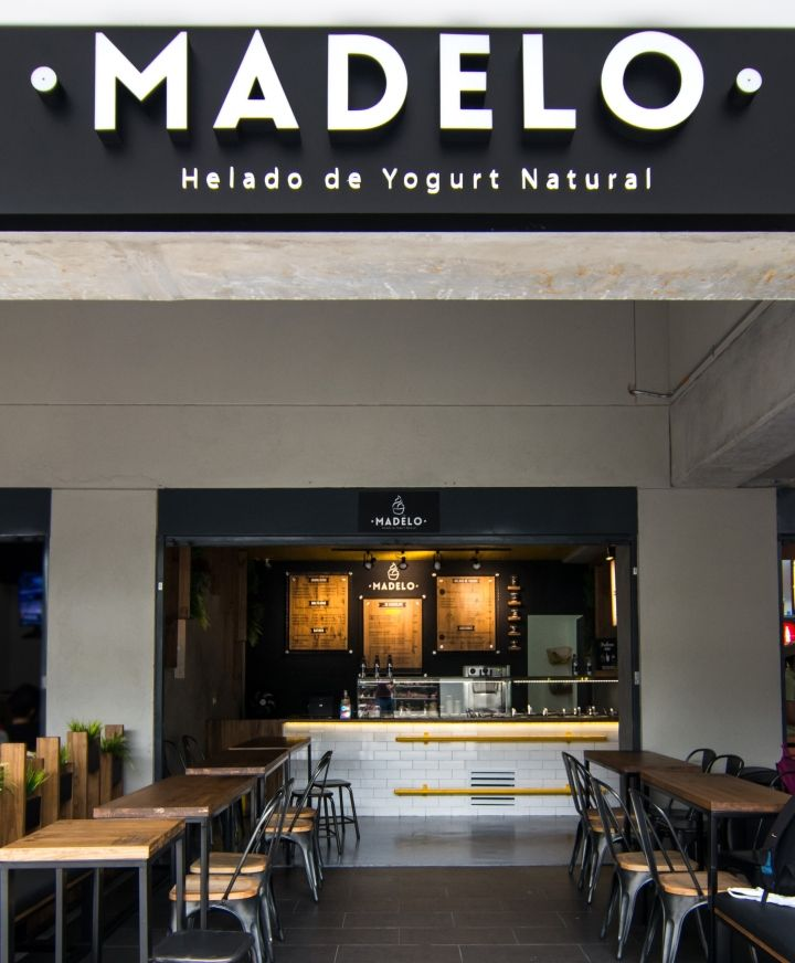 Madelo frozen yogurt shop by Blaster, Medellín – Colombia » Retail Design Blog