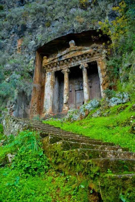 Tomb of Amintas in #Fethiye, #Turkey