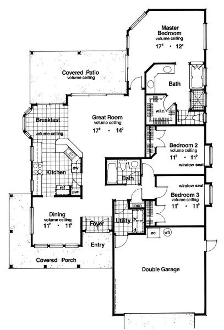 75 best small house plans images on pinterest small house plans this country design floor plan is 1627 sq ft and has 3 bedrooms and has 2 bathrooms
