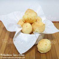 Pão de Queijo na AirFryer - Fritadeira sem Óleo - AirFryer | pra testar hoje!
