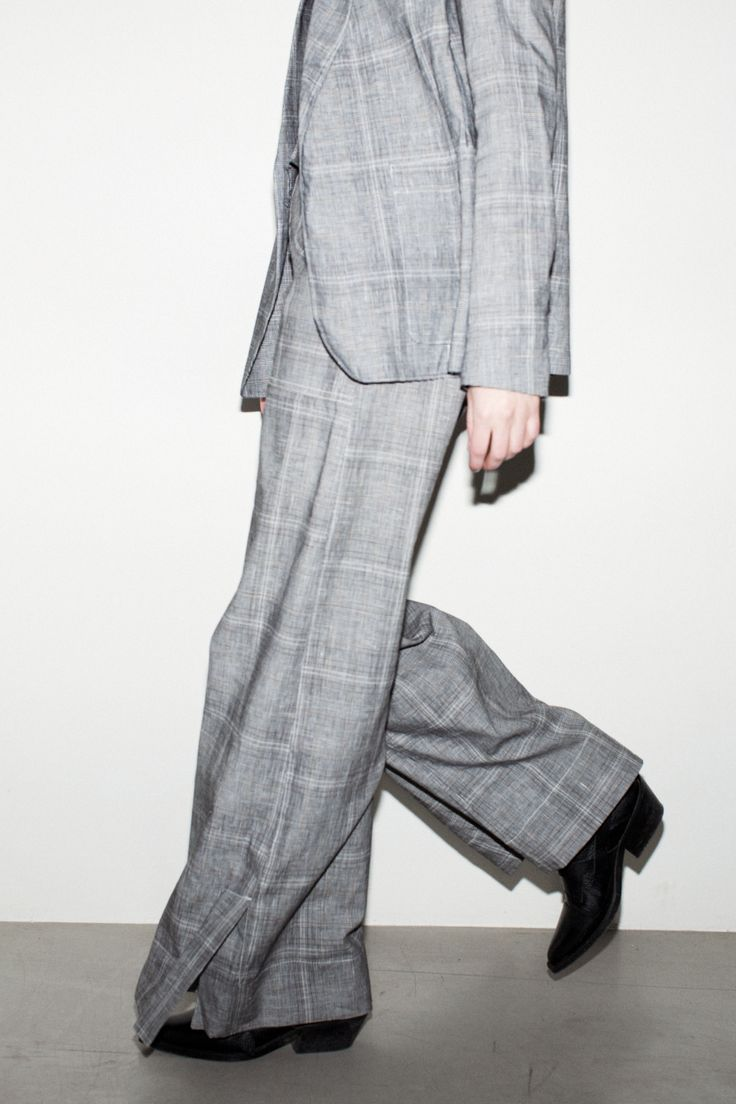 Mass Trouser - Grey Check #HopeStockholm http://hope-sthlm.com/mass-trouser-grey-check