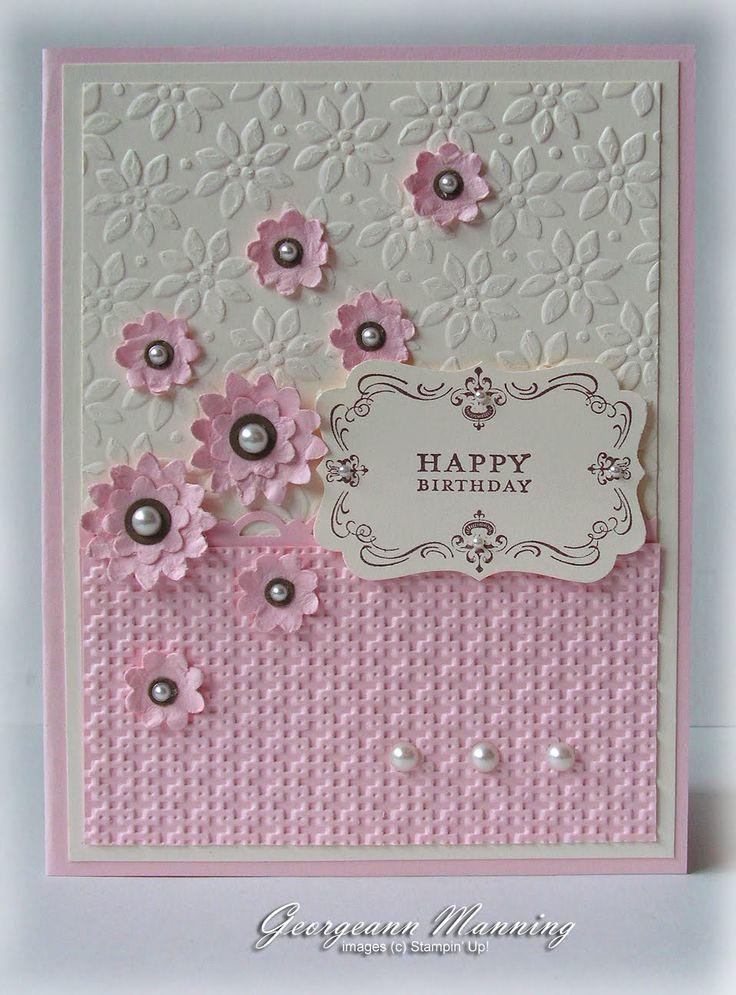 """Happy Birthday"" Card, designed by Georgeann Manning."