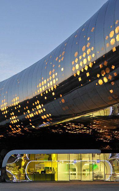 1   South Korean Prehistory Museum, Or Giant Cyborg Worm Monster?   Co.Design   business + innovation + design