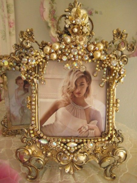 Exquisite vintage gold and pearls