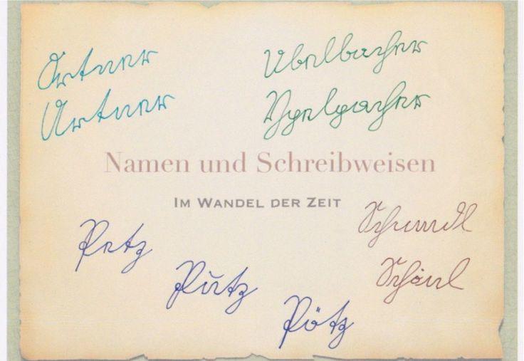 Eine Herausforderung bei der Ahnenforschung ist, dass sich die Schreibweise von Nachnamen im Lauf der Zeit ändern kann. Gründe hierfür sind vielfältig.