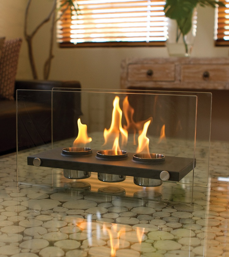 Eco Friendly Fire Places - 3 Pot Eco Friendly Fire Place