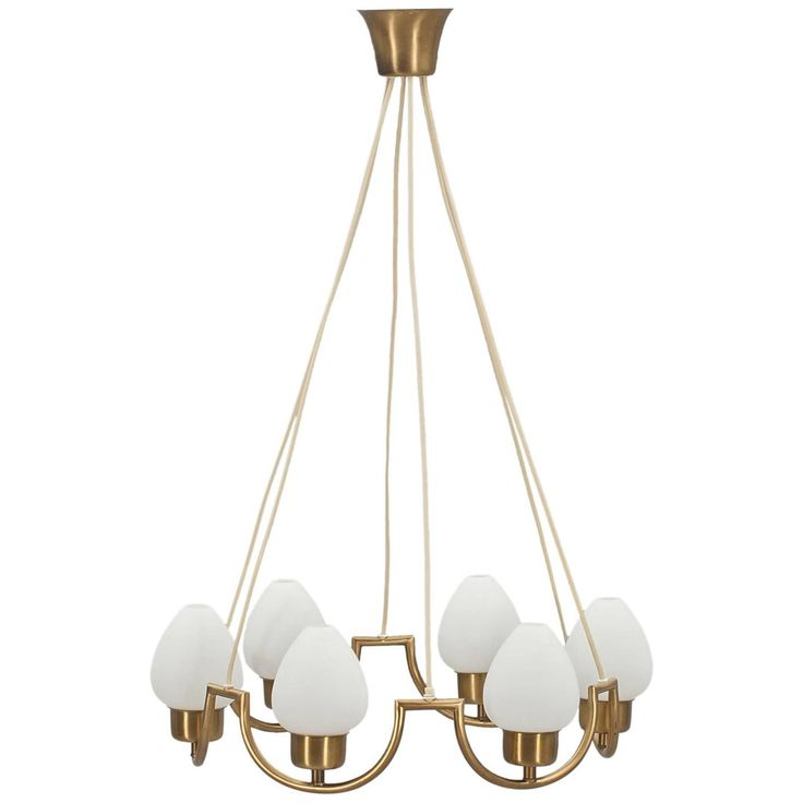 Scandinavian Chandelier, circa 1940 | From a unique collection of antique and modern chandeliers and pendants at https://www.1stdibs.com/furniture/lighting/chandeliers-pendant-lights/