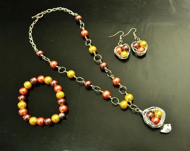 127 mejores im genes sobre collares aretes y pulseras en - Bisuteria para hacer en casa ...