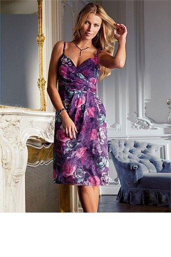 European Brands - Together Printed Dress