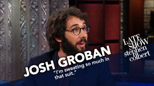 Josh Groban walks a few steps down Broadway to tell Stephen about his new musical 'Natasha, Pierre & the Great Comet of 1812,' and a particular debt he owes to Ms. Winfrey.